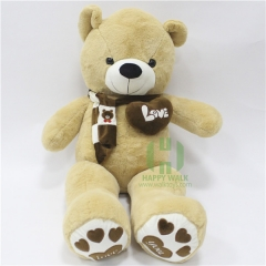 80-180cm The Light Brown Scarf Teddy Bear