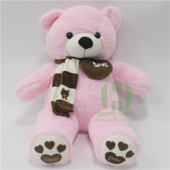 80-180cm The Pink Scarf Teddy Bear