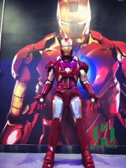 Can Wear Iron Man Full Body Armor Head EVA Model Performance Props COS Wearable