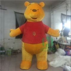 Inflatable Teddy Bear Mascot Costume