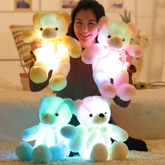30cm LED Teddy Bear for Valentine's Day