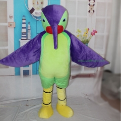 Long Billed Bird Cosplay Custom Adult Walking Fur Human Animal Party Plush Movie Character Cartoon Mascot Costume for Adult Sh