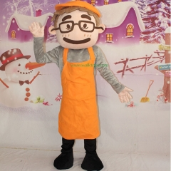 Cook Cosplay Custom Adult Walking Fur Human Animal Party Plush Movie Character Cartoon Mascot Costume for Adult Sh