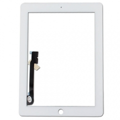 For iPad 3 White Touch Screen Digitizer Outer Glass Panel