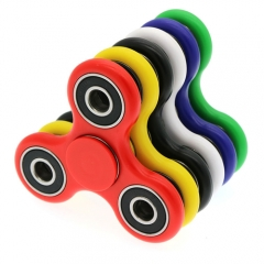 Fidget Hand Spinner Tri EDC Toys Stress Relief Games Ceramic Steel Bearings
