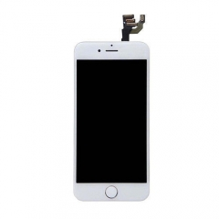 For iPhone 6 Plus 5.5'' White LCD Digitizer Touch Screen Display Assembly with Home Button Camera
