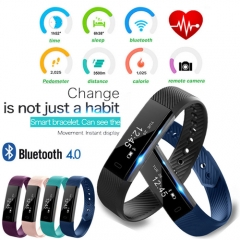 Smart Bracelet Blue tooth Watch Fitness Activity Tracker Calorie Counter Monitor