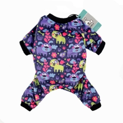 CuteBone Dog Pajamas Puppy Dog Apparel Dog Jumpsuit Pet Clothes Pajamas P20