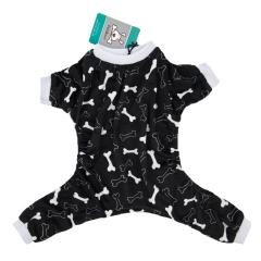 CuteBone Dog Pajamas Bone Dog Apparel Dog Jumpsuit Pet Clothes Pajamas P39