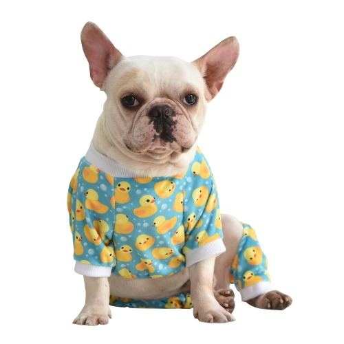 CuteBone Yellow Duck Pajamas