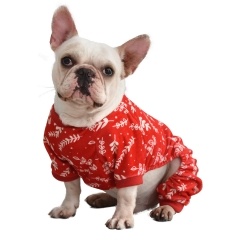 Christmas Red Leaf Pajamas