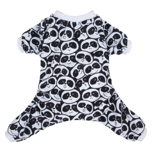 Panda Pattern Dog Pajamas
