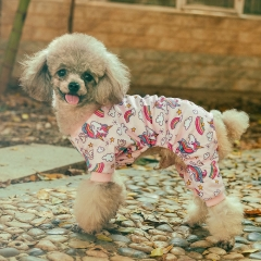 Pink Unicorn Dog Pajamas