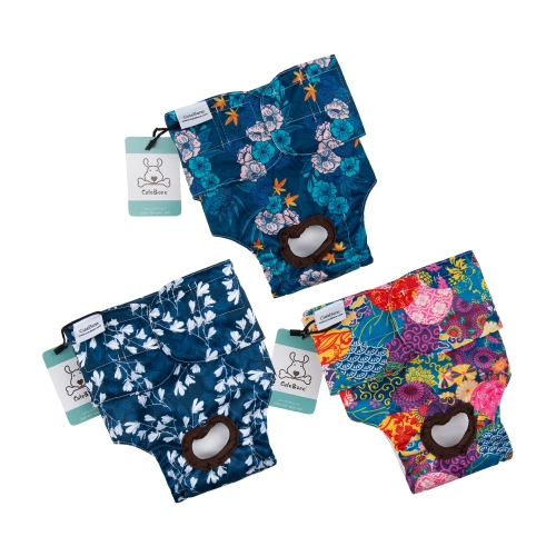 3 Pack Japanese Style Female Dog Diapers