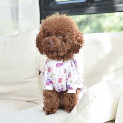 Birthday Cake Pattern Dog Pajamas