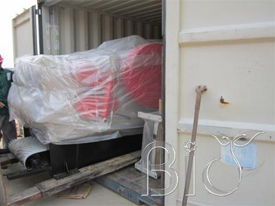 BX216 Wood chipper ship to Macedonia