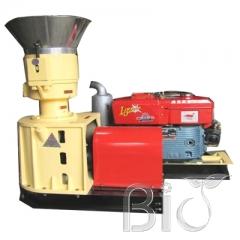Diesel wood pellet mills