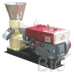 Diesel feed pellet machine