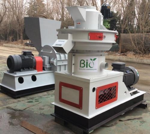 Thailand client install our sawdust pellet machine