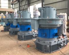 Vietnam client order 4sets XGJ850 Pellet machine
