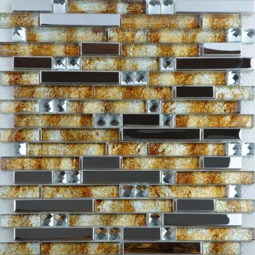 stainless steel tile crystal glass tile back splash cheap t005 fifyhcom