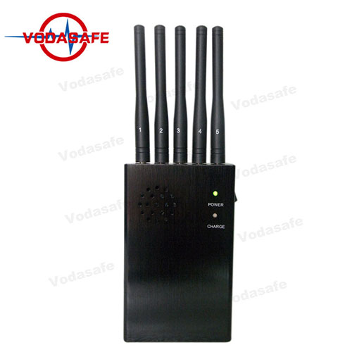 5 Antennas Wifi Signal Stopper With 15M 2.5W output Power Jamming Range