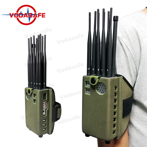 Signal blocker Bowen - 10 Antennas Heat Emitting Shell Wifi Signal Scrambler With 20M Jamming Range