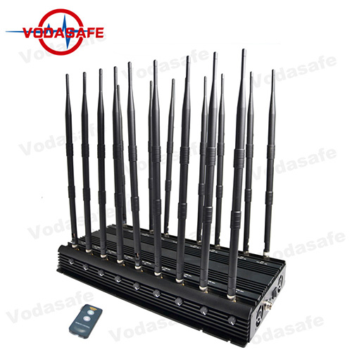 Electronic cell phone jammer - Full Band 18 Way Wifi Signal Scrambler With 50M Jamming Range
