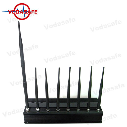 18W High Power Wifi Signal Jammer With 8 RF Signals Customized Service