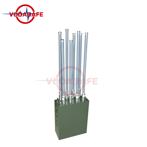 Multi Bands Military Man Pack Bomb Jammer with High Power Convoy Cover Radius 50-100m