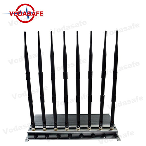 5-8/Band High Power Wifi Device Blocker With 8 Antennas Signals Customized Service