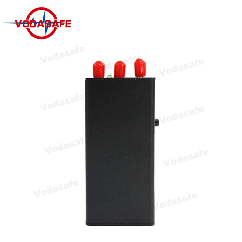 3PCS Omnidirectional Antennas Vehicle Jammer With 2GGPS Signal Blocking Function