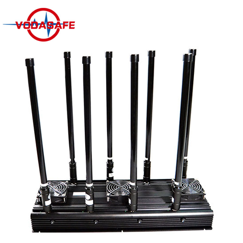 Blocking mobile phones , 5 High Power Antenna Phone Jammer & WiFi Jammer