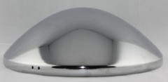 Stainless Steel Smooth Baby Moon Hub caps for VW Beetle 1968 on VW T2 Bay 1971-1979 VW T25 1979-1992