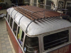 Stainless Steel 5 Bows Split/Bay  Bus Westfalia Style Roof Rack