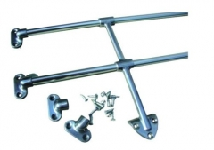 Deluxe VW Bus Rear Jail Bar  Fit SplitScreen and Bay window