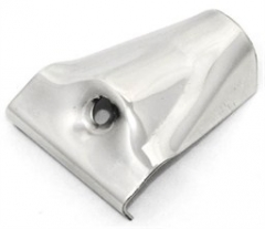 Polished stainless steel spare clamp for Westfalia style roof rack
