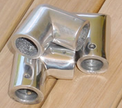Stainless Steel End Caps for Westyfalia Rack