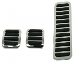 3PCS/set  Brake and Clutch Pedal Covers VW Beetle Bug Ghia