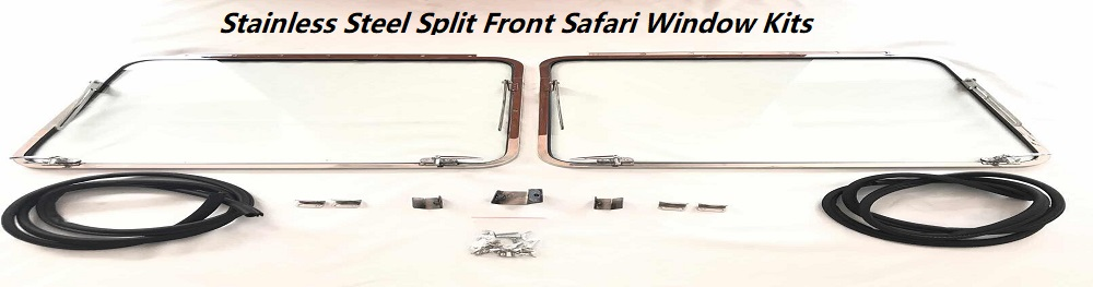 Stainless Steel Safari  Window