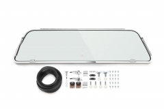 Bus Rear Safari Window Complete Kits 64-79 Stainless Steel
