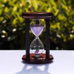 wooden sand timer