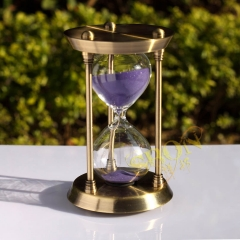 Brass Sand clock  30 minutes