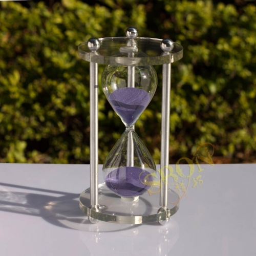60 minutes arcylic sand timer