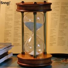 Wood Sand clock  60 minutes