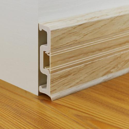 Raitto Brand Wood Grain Pvc Skirting Board