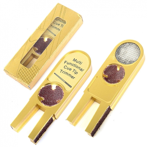 CUESOUL GUS001 Multi Functional Cue Tips Trimmer