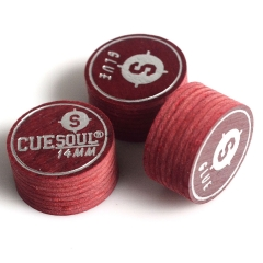 CUESOUL 3S-K3407  Hard/Medium/Soft  Pool Cue Tips 14mm