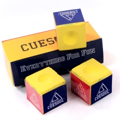 CUESOUL CSBC001-004 Quality Pool Cue Chalk