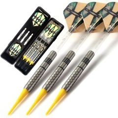 CUESOUL ST(L)-C3204 85% Natural Tungsten 16 Gram Soft Tip Darts